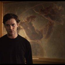 Klimt & Schiele - Eros e psiche: Lorenzo Richelmy in un'immagine del documentario
