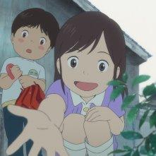 Mirai: un momento del film animato