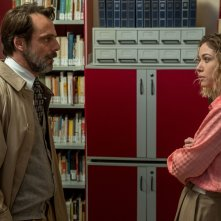 Nessuno come noi: Sarah Felberbaum e Alessandro Preziosi in una scena del film