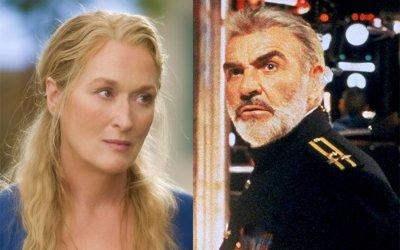 Mamma Mia! e Caccia a ottobre rosso: se Meryl Streep e Sean Connery si vedono in 4K