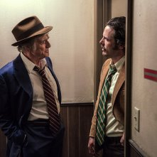 The Old Man & the Gun: Robert Redford e Casey Affleck in una scena del film