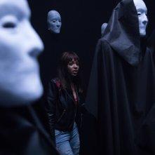 Hell Fest: Reign Edwards in una scena del film