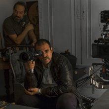 Uno di famiglia: il regista Alessio Maria Federici sul set del film