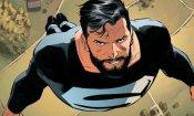 Arrowverse: il costume nero di Superman svelato nella nuova foto del crossover