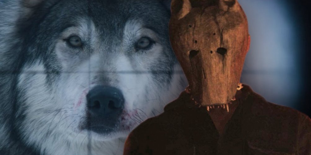 Hold The Dark Wolf And Mask
