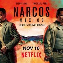 Narcos: Messico, il poster della serie