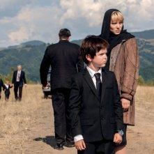 Kursk: Artemiy e Léa Seydoux in una scena del film