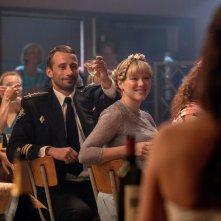 Kursk: Matthias Schoenaerts e Léa Seydoux in una scena del film