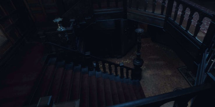 Haunting Of Hill House Hidden Ghost Stairs
