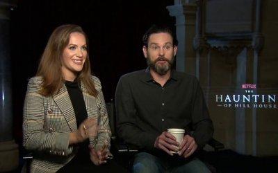 Hill House: Henry Thomas, Kate Siegel e la felice famiglia di Netflix