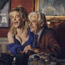 Notti magiche: Giancarlo Giannini e Marina Rocco in una scena del film