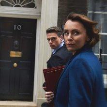Bodyguard: Keeley Hawes insieme a Richard Madden in un'immagine