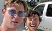 Chris Hemsworth dà un passaggio a un musicista...a bordo del suo elicottero!