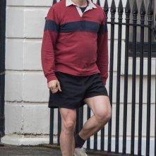 Ironbark: Benedict Cumberbatch in tenuta da jogging sul set