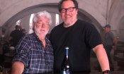The Mandalorian: George Lucas in visita al set!