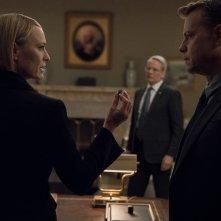 House of Cards: Robin Wright in una scena dell'episodio Chapter 67