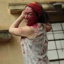 Zombie contro zombie: una scena del film