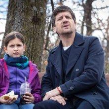 Ti presento Sofia: Fabio De Luigi e Caterina Sbaraglia in una scena del film
