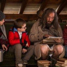 Ötzi e il mistero del tempo: Judah Cousin, Amelia Bradley e Michael Smiley in una scena del film