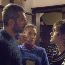 Cosa fai a Capodanno?: Luca Argentero, Ilenia Pastorelli e Vittoria Puccini in una scena del film