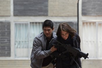 Red Zone Lauren Cohan Iko Uwais