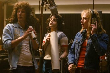 Bohemian Rhapsody Gwilym Lee Rami Malek Ben Hardy