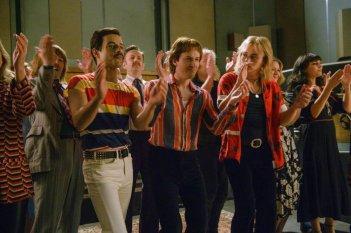 Bohemian Rhapsody Rami Malek Joseph Mazzello Ben Hardy
