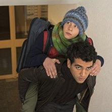 Conta su di me: Elyas M'Barek e Philip Schwarz in un momento del film
