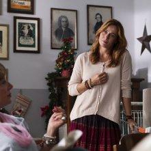 La prima pietra: Lucia Mascino e Iaia Forte in un momento del film