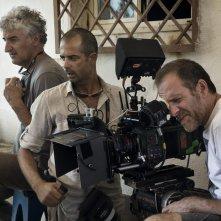 Ride: Valerio Mastandrea al lavoro sul set del film