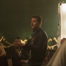 Upgrade: il regista Leigh Whannell sul set del film