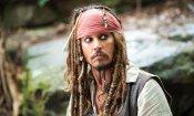 Johnny Depp ha preparato il ruolo di Jack Sparrow surriscaldandosi il cervello in sauna!