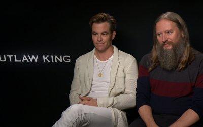 Outlaw King: Chris Pine è l'anti William Wallace nel film Netflix