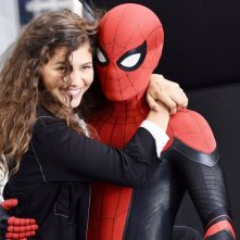 Spider-Man: Far From Home, Zendaya e Tom Holland sul set