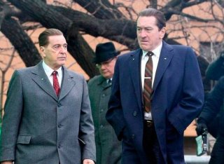 The Irishman Al Pacino Robert Deniro