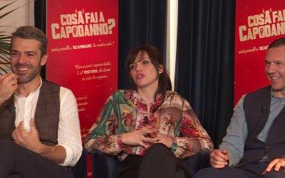 Cosa fai a Capodanno?: L'intervista a Luca Argentero, Ilenia Pastorelli e Filippo Bologna