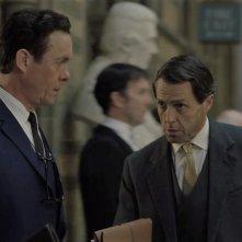 A Very English Scandal: Hugh Grant, Alex Jennings in una scena