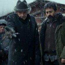 Il mangiatore di pietre: Luigi Lo Cascio e Bruno Todeschini in un momento del film