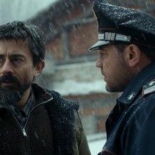 Il mangiatore di pietre: Luigi Lo Cascio e Leonardo Nigro in un momento del film