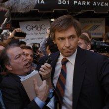The Front Runner: Hugh Jackman in una scena del film