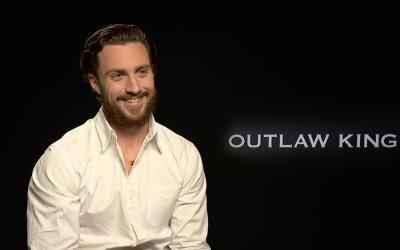 """Aaron Taylor-Johnson su Outlaw King: """"Le discussioni sui social sono le battaglie di oggi"""""""