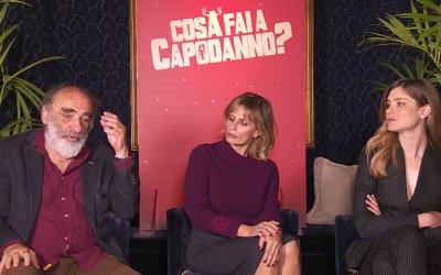 Cosa fai a Capodanno?: L'intervista a Alessandro Haber, Vittoria Puccini e Isabella Ferrari