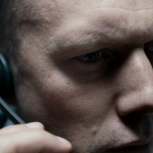 The Guilty: Jakob Cedergren in un'immagine tratta dal film