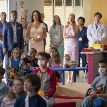 Queen America: una scena delle prima stagione con Catherine Zeta-Jones