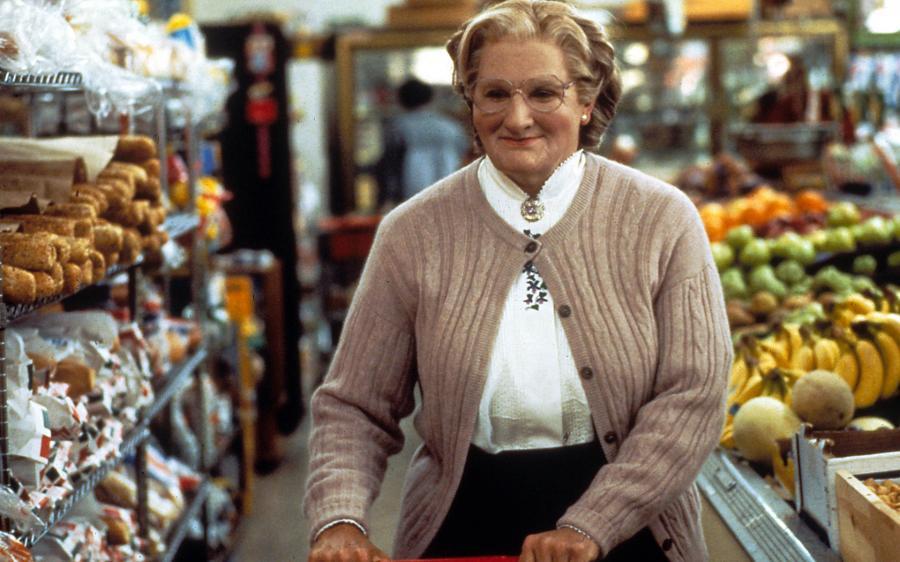 Mrs Doubtfire Robin Williams Film