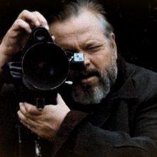 Lo Sguardo di Orson Welles: Orson Welles in un'immagine del documentario firmato da Mark Cousins