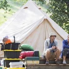 Camping: una scena con Jennifer Garner e David Tennant