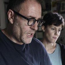 Ride: Valerio Mastandrea sul set con Chiara Martegiani