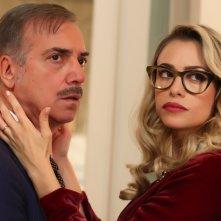 Natale a 5 stelle: Massimo Ghini e Martina Stella in una scena del film