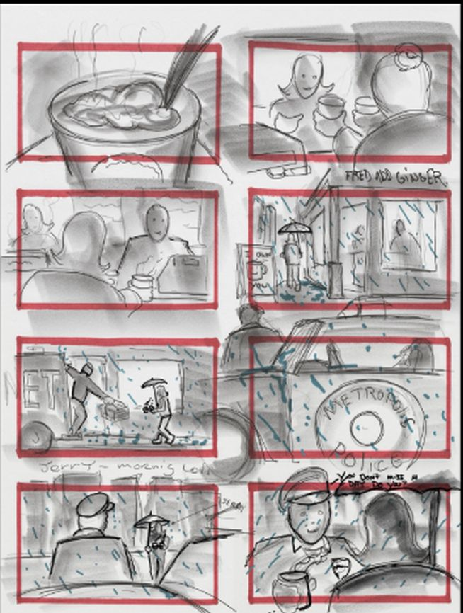Justice League Storyboard